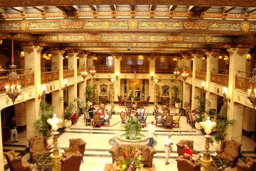 Our Swanky Stay At The Davenport Hotel