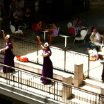 Hula Dancing at Ala Moana Shopping Center