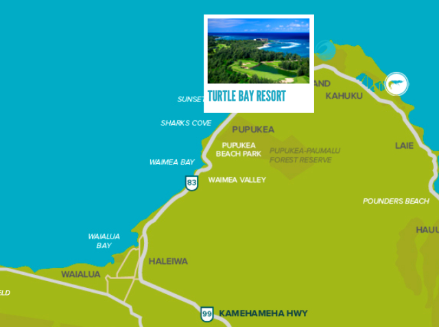 Turtle Bay map