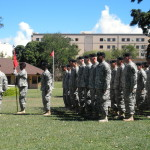 Our Army Life: Pete's Change of Command Ceremony
